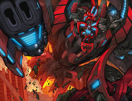 Dread Force Tyrannaczar by Sandoval-Art