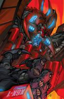 Dread Force Tyrannaczar Cover by Sandoval-Art