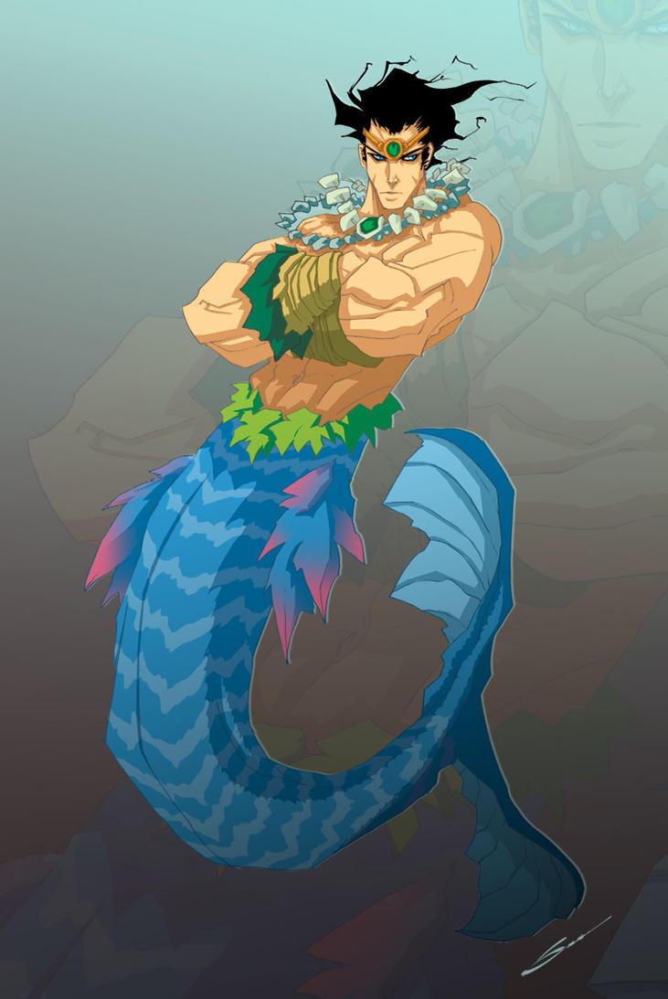 Merman by Sandoval-Art on DeviantArt