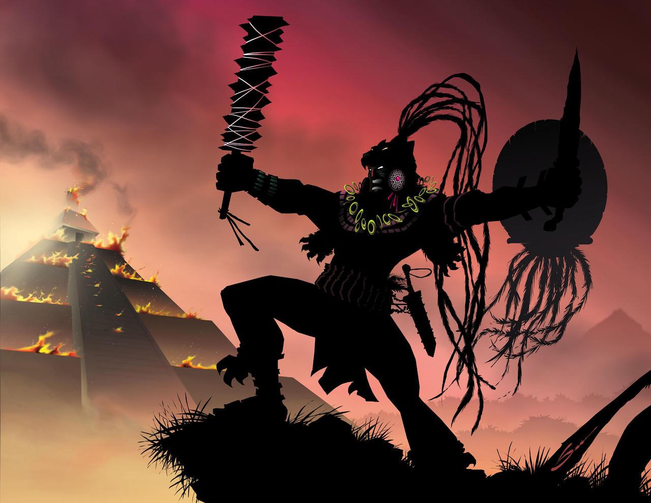 ... warrior aztec jaguar warrior weapons aztec jaguar warrior mask aztec