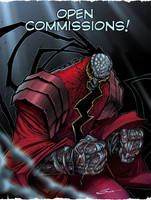 OPEN COMMISSIONS by Sandoval-Art