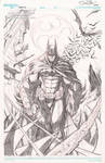BATMAN original art!