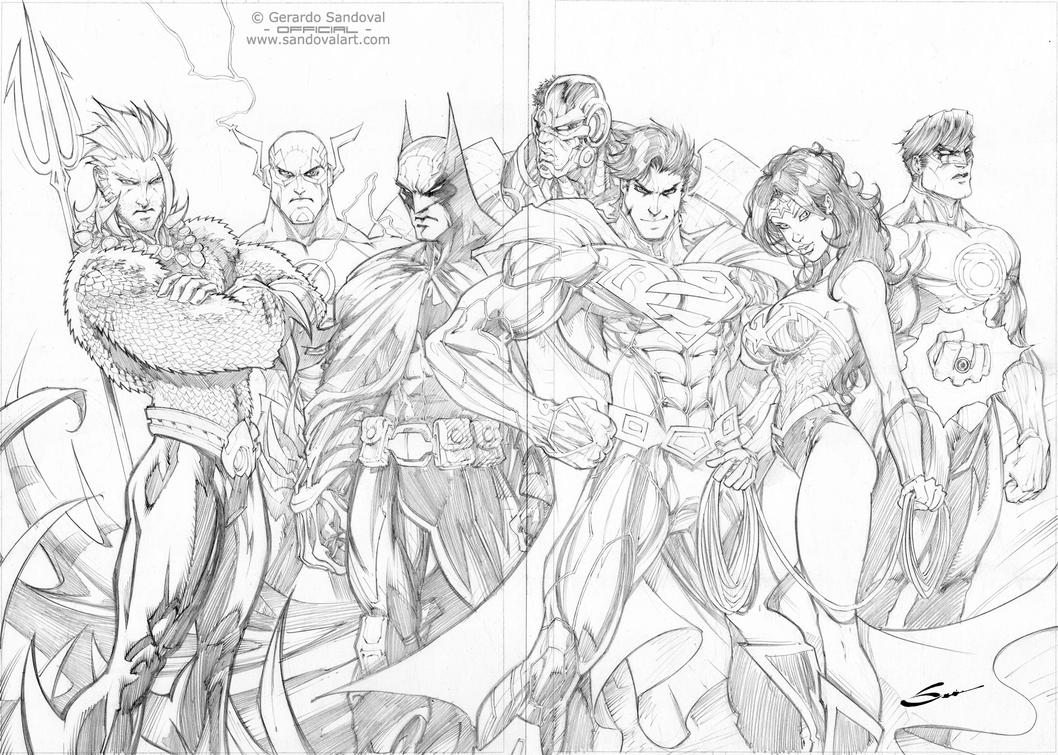 coloring pages and justice league - photo#29