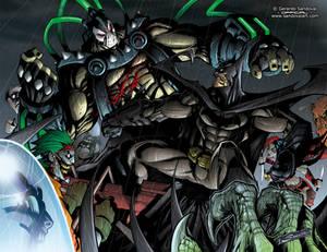 BATMAN VS BANE!