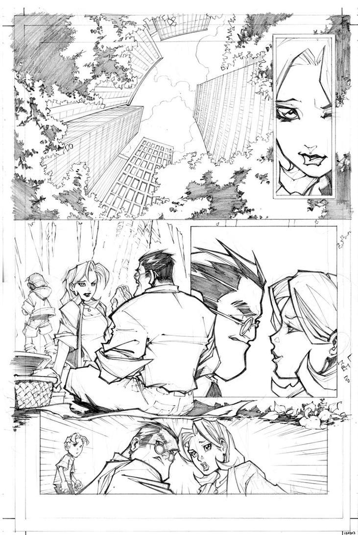 LOBO SUPERMAN 1 by Sandoval-Art