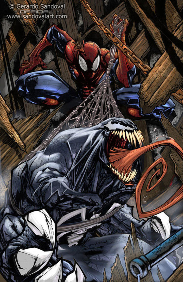 Venom spiderman art - photo#3