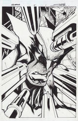 Wolverine 5 Page 1 by Sandoval-Art
