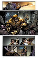 Wolverine #5 - Page 03 color