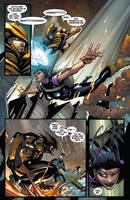 Wolverine #6 page 2 by Sandoval-Art