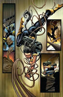 Wolverine #6 page 3 by Sandoval-Art