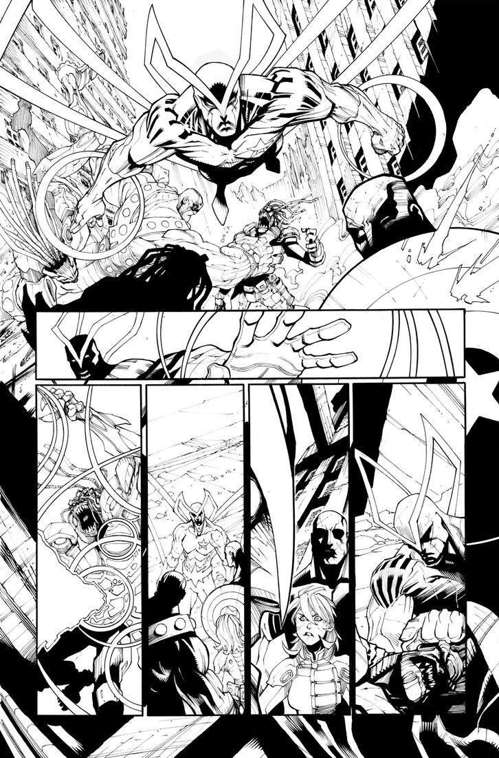 Guardians 3000 issue 1 - Page 06 by Sandoval-Art