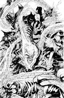 Thunderbolts #28 by Sandoval-Art