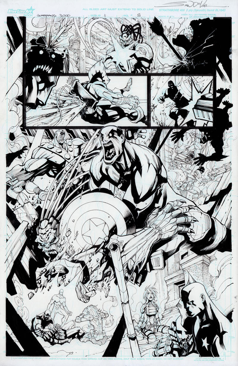 Guardians 3000 issue 1 by Sandoval-Art
