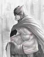 Batman Dark Knight by Sandoval-Art
