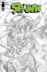 Spawn #261 cover by Sandoval-Art