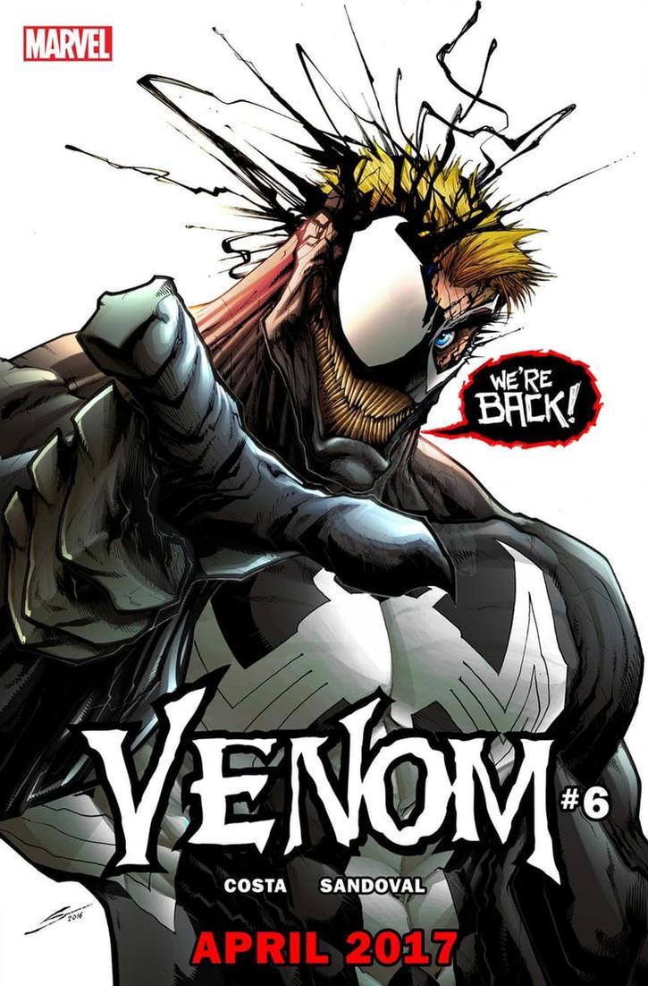 VENOM #6 by Sandoval-Art