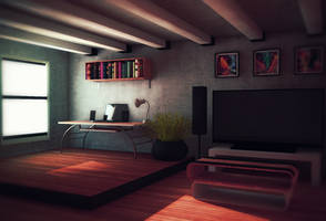 Studio apartment - experimenting by jesse