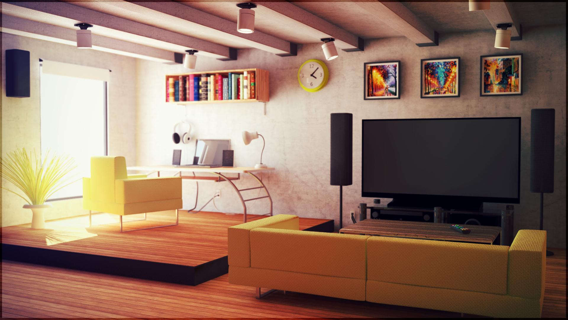 Studio Apartment By Jesse On Deviantart