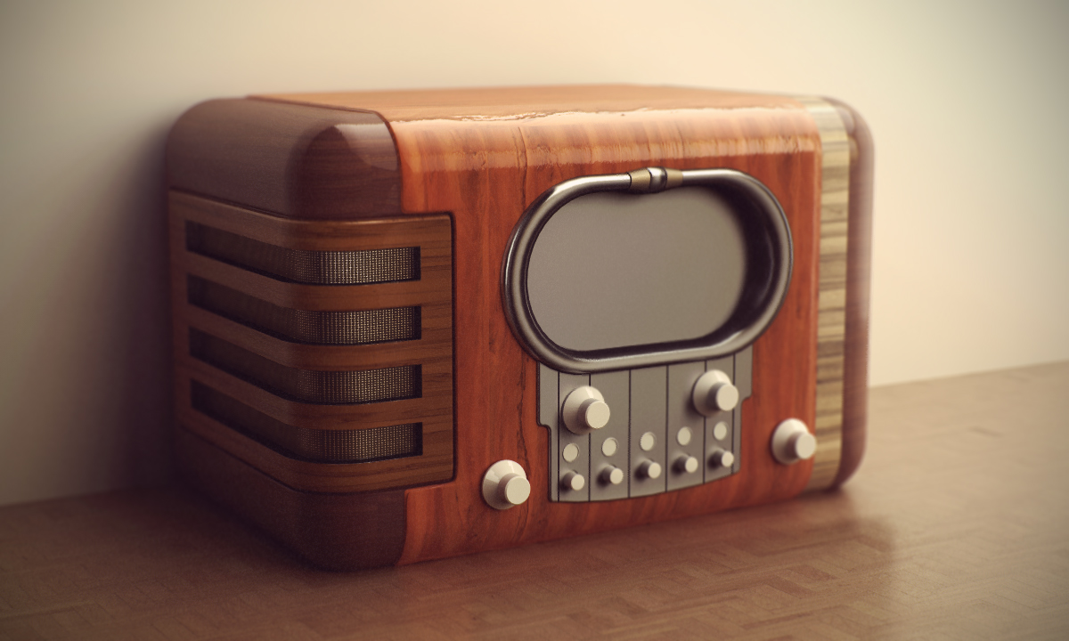 vintage radio by jesse on deviantart. Black Bedroom Furniture Sets. Home Design Ideas