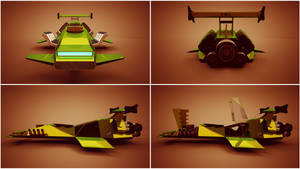 Hover racer revisited.