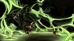 Metroid Bosses: Metroid Queen by Cronoan