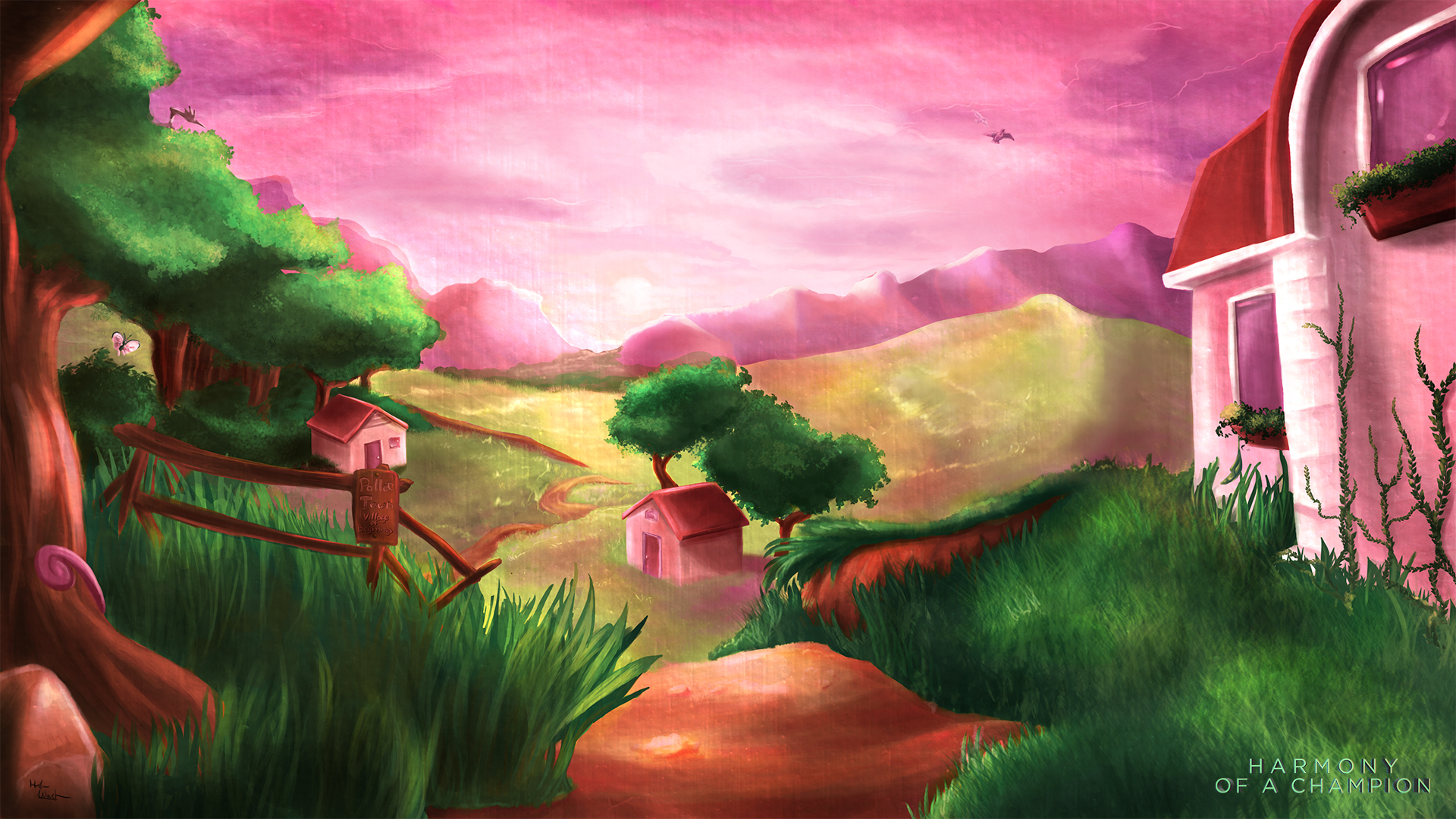 Pallet Town: Harmony of a Champion by Cronoan