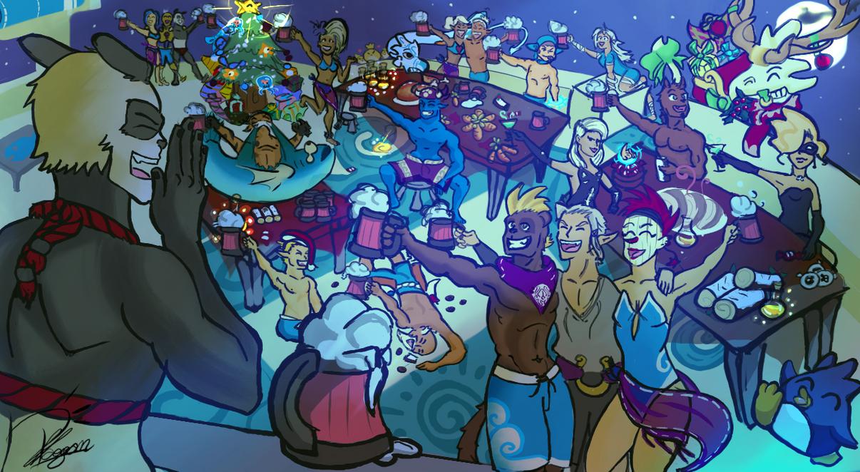 Fiestas en Sufokia. by Phaogan