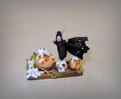 Halloween mouse - Dracula!