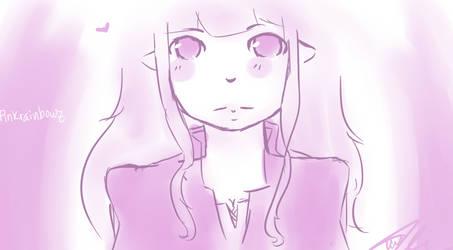Pink mage by ParanoidJoker