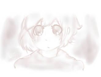 Random little girl by ParanoidJoker