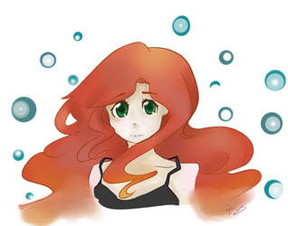 Red girl by ParanoidJoker