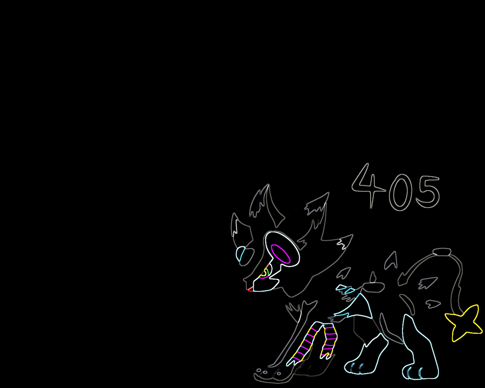 Luxray Pokemon Wallpaper Plasma Colours By ArtisticNinja