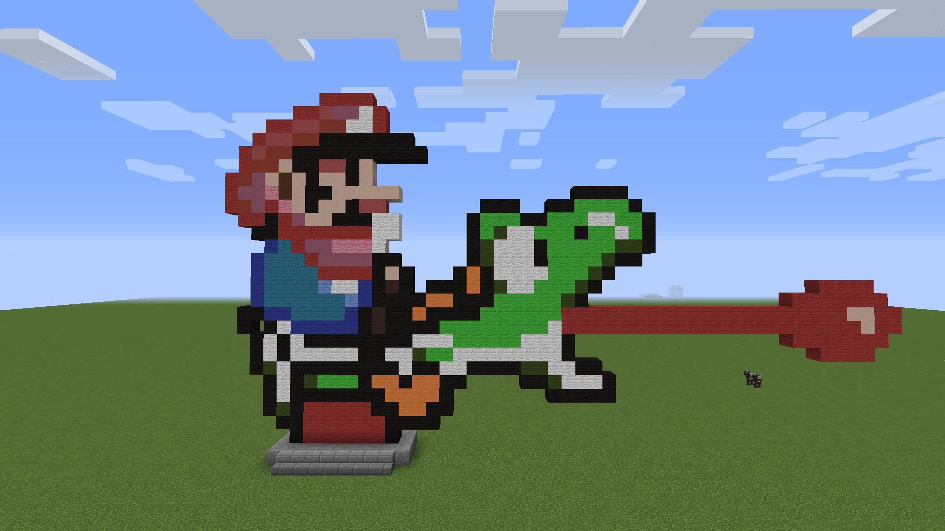 Super Mario World Mario Yoshi Sprites by ArtisticNinja on ...