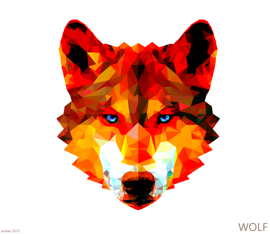 the red wolf d by artisticninja on deviantart