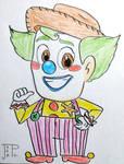 Pixar's Clowns Rodeo - Woody