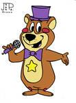 FNAF x Hanna-Barbera - Rockstar Freddy