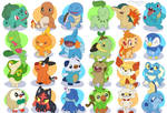 Pokemon starters (What's your favorite?)