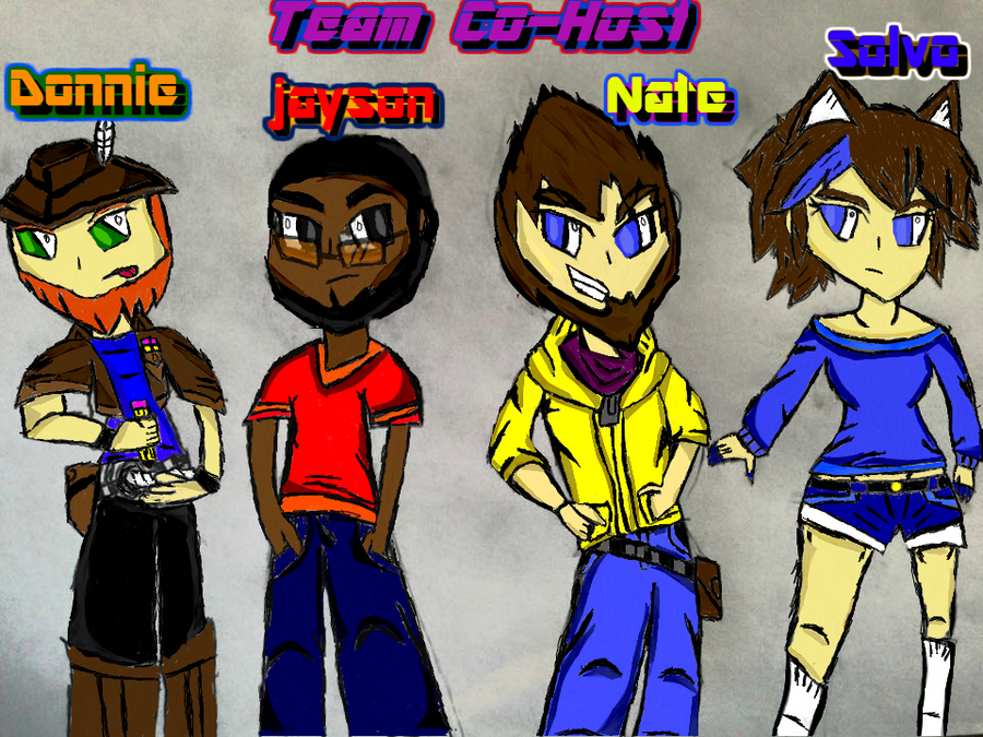 Team Withmy Co-Host by darkclaw641