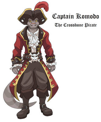 Captain Komodo Updated Outfit by AxlReigns