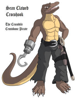 Sean Clawed Crocohook by AxlReigns
