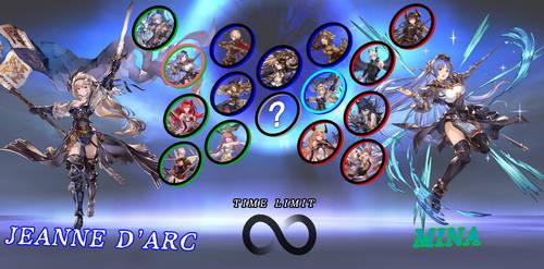 Rage of Bahamut Character Select Screen by AutobotHoneflash