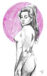 Luna morada by argenis-trejo