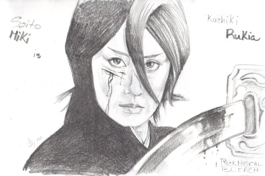 Rukia in Rock Musical Bleach by ThePowerofThree95