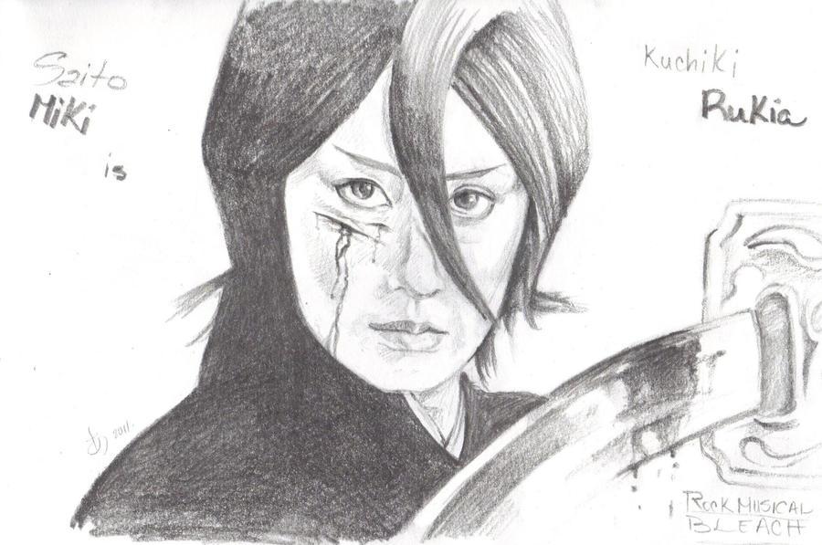 Rukia in Rock Musical Bleach by ThePowerofThree95