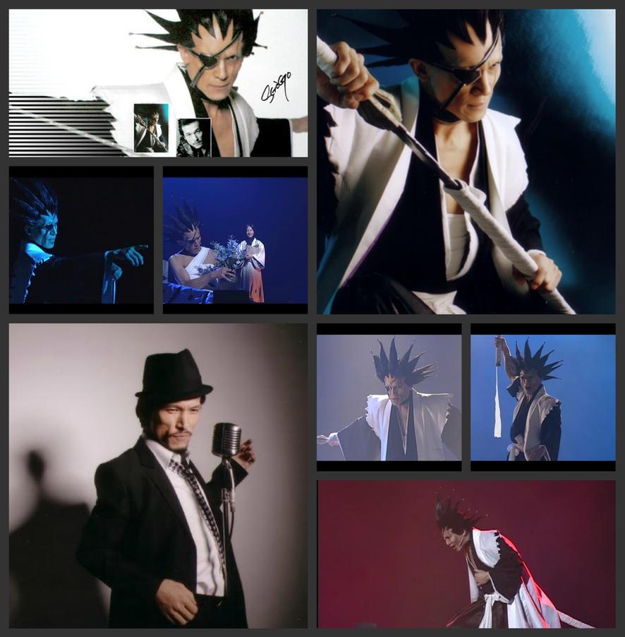 RMB- Suzuki Shogo as Zaraki Kenpachi by ThePowerofThree95