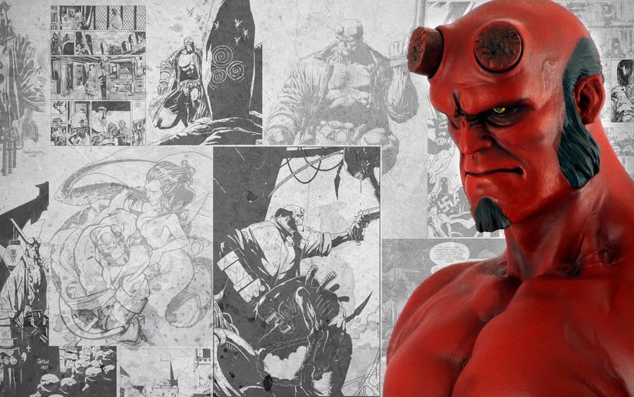Narin's Hellboy by fakenrite