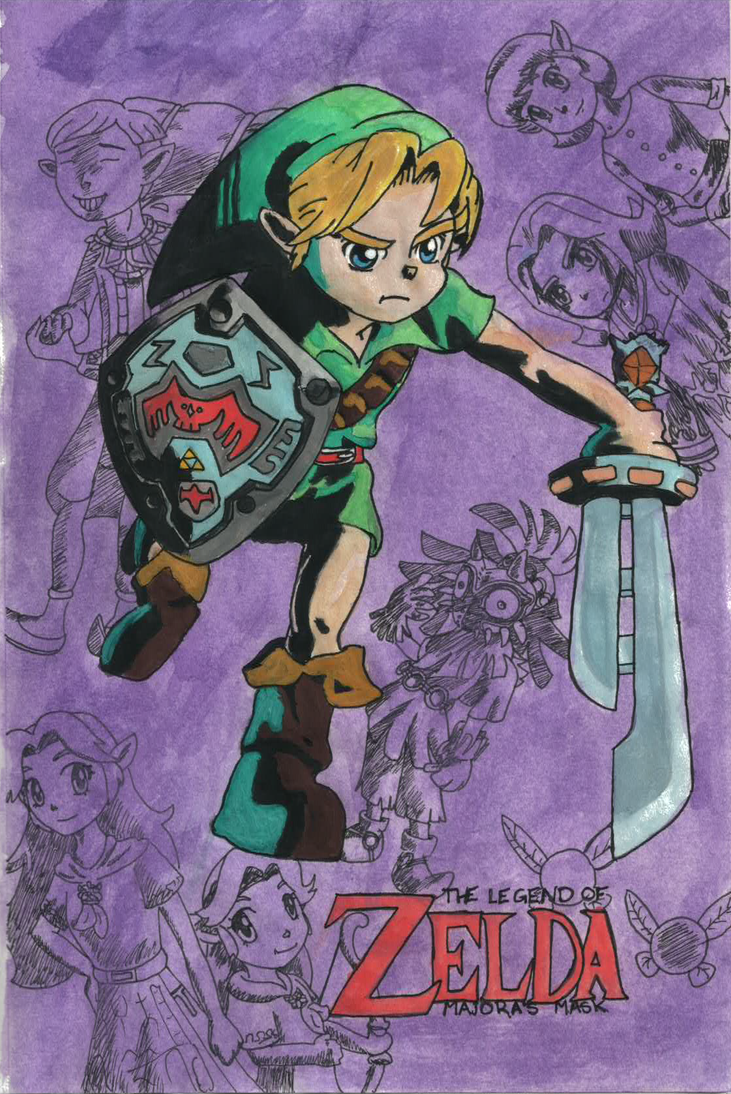Hero of Termina (Requested by Iman) by Nado13579