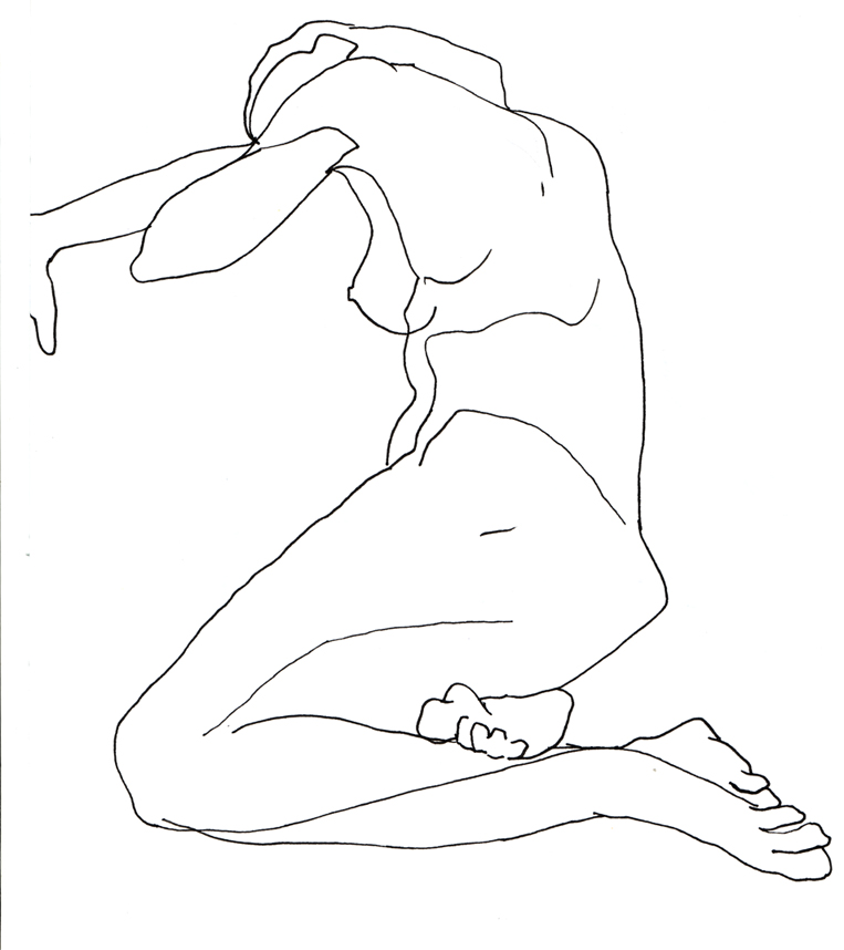Contour Line Drawing People : Contour drawing by katie murphy on deviantart