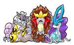 The Chibi Legendary Beasts