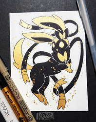 Gilded Eeveelutions Series: Sylveon by Virize